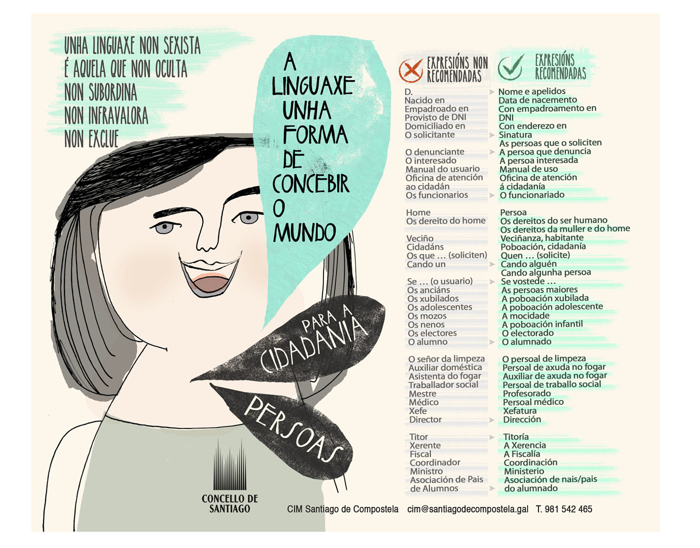 Alfombriña Linguaxe Inclusiva