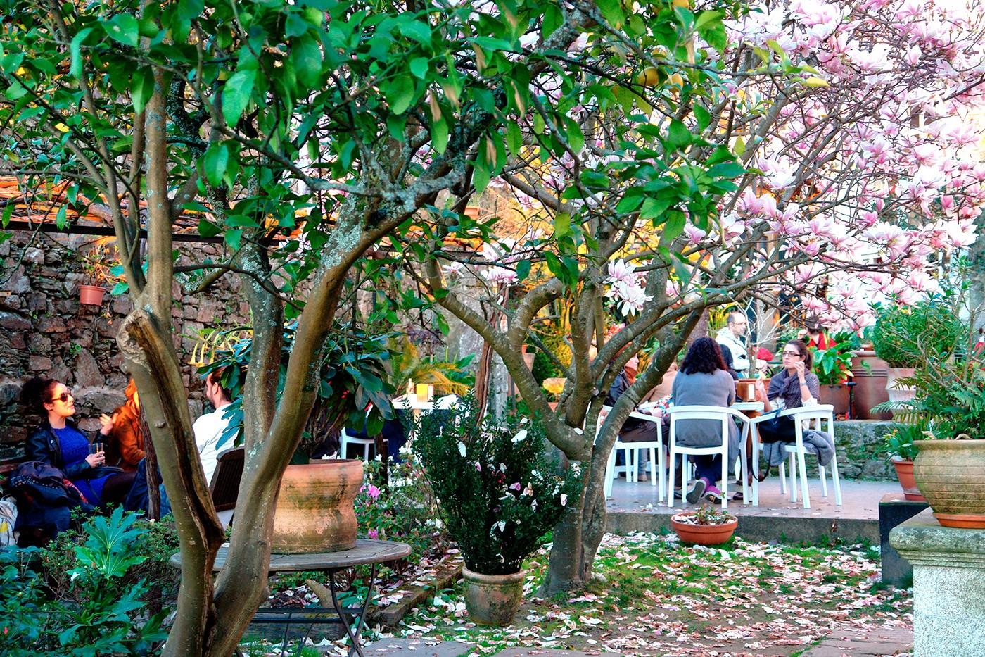 cafe xardín costa vella