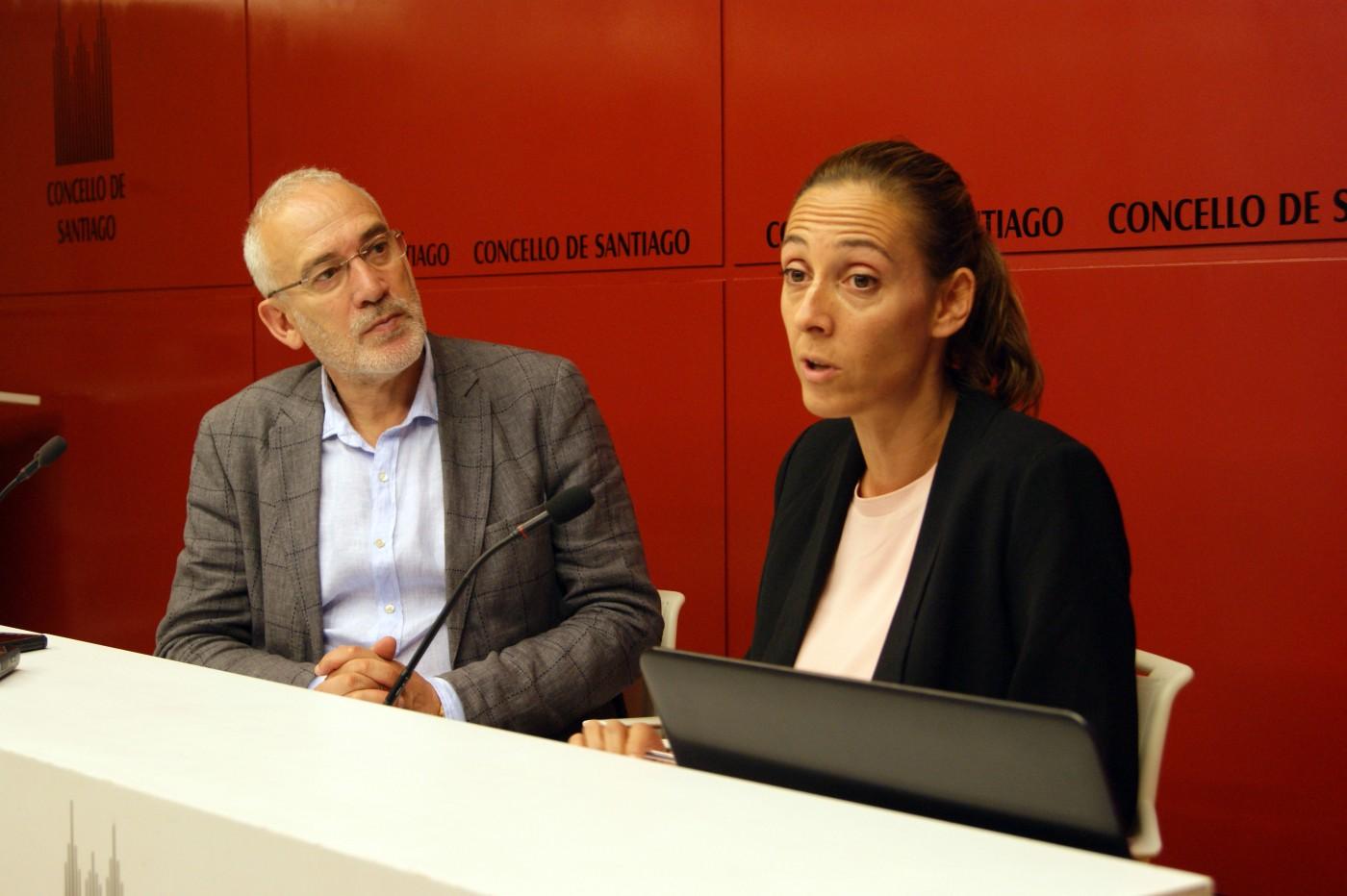 Rolda de prensa da concelleira de Igualdade, Noa Díaz, e do concelleiro de Turismo, Sindo Guinarte