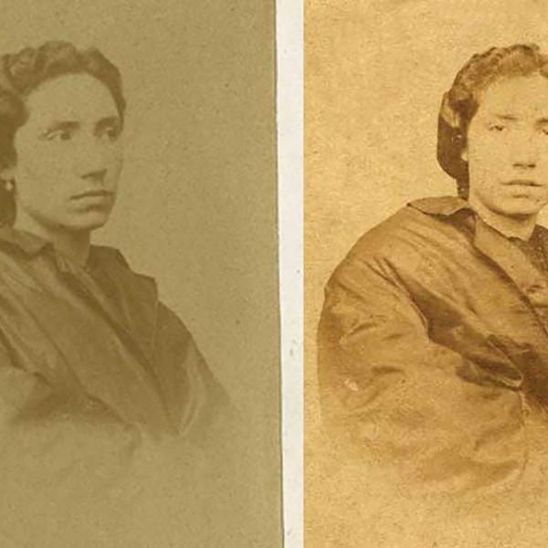 Rosalía de Castro por María Cardarelly