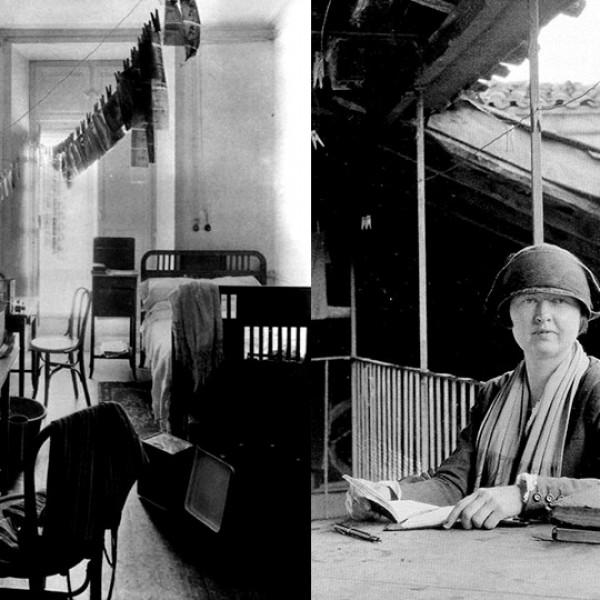 Ruth Anderson e o Hotel Suizo
